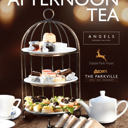 Afternoon Tea at dalziel park hotel, angels hotel and the parkville hotel