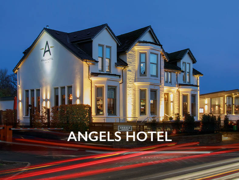 Angels Hotel in Uddingston, Glasgow - part of the Lisini Pub Company Group