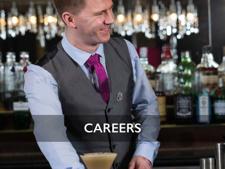 Careers in Hospitality across Lanarkshire and Glasgow with Lisini Pub Company