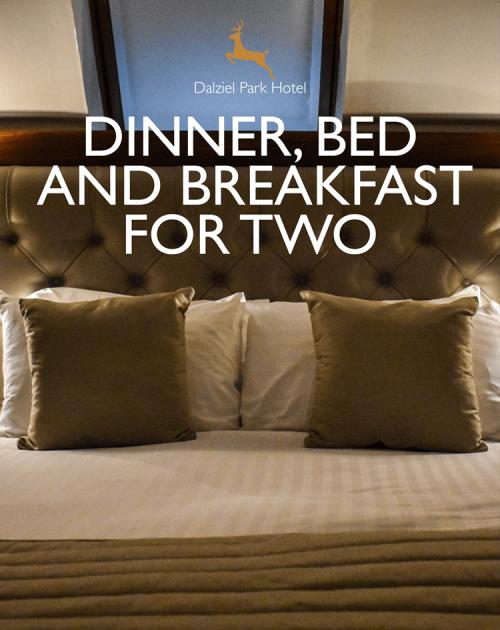 Dinner Bed & Breakfast at Dalziel Park Hotel in Motherwell