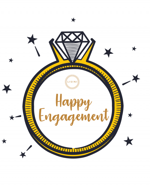 Happy Engagement Gift Card