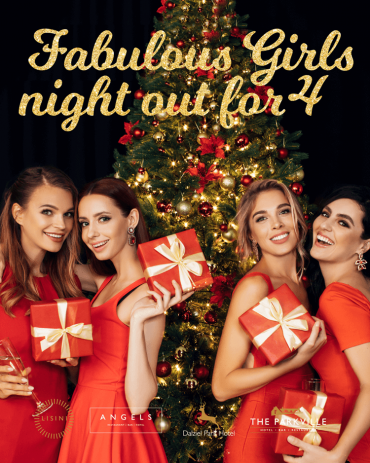 Girls Night Out for 4 al all lisini venues