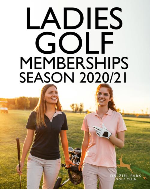 Ladies Golf Memberships at Dalziel Park Hotel and Golf Club