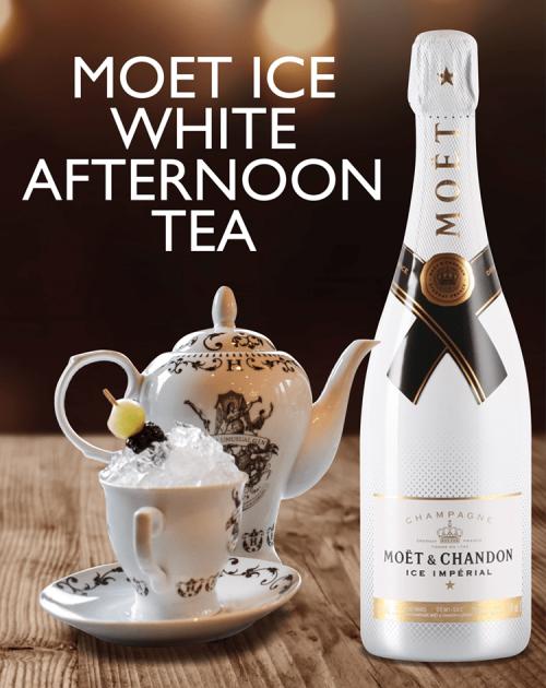 Moet Ice White Afternoon Tea Package