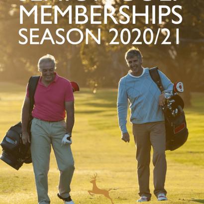 Senior Golf Memberships at Dalziel Park Hotel